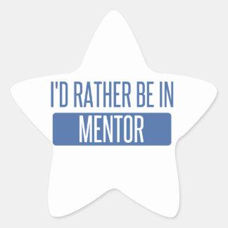 Adesivo Estrela Eu preferencialmente estaria no mentor