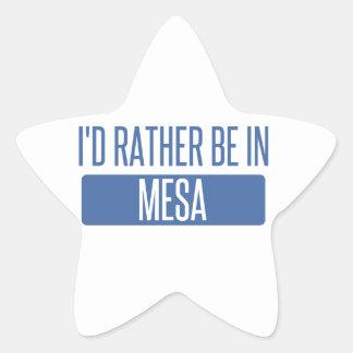 Adesivo Estrela Eu preferencialmente estaria no Mesa