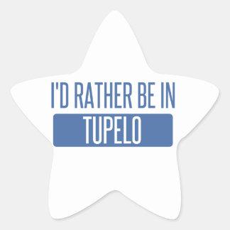 Adesivo Estrela Eu preferencialmente estaria no Tupelo