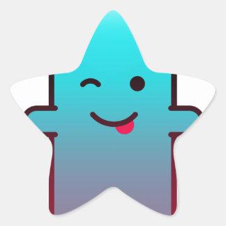 Adesivo Estrela Fantasma bonito