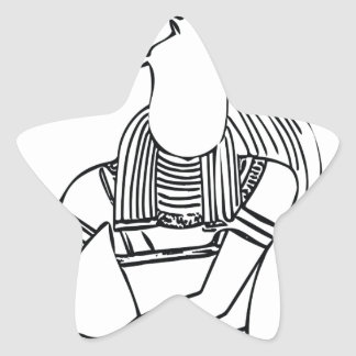 Adesivo Estrela Faraó 1 do escaravelho