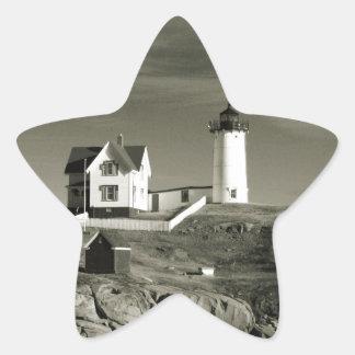 Adesivo Estrela Farol em Maine