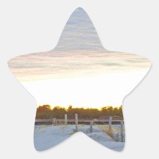 Adesivo Estrela Farol no por do sol