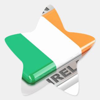 Adesivo Estrela Feito em Ireland