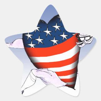 Adesivo Estrela fernandes tony altos e orgulhosos de nebraska,