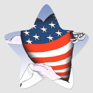 Adesivo Estrela fernandes tony altos e orgulhosos de North Dakota,