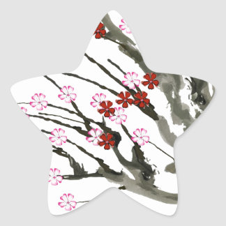 Adesivo Estrela flor de cerejeira 11 Tony Fernandes