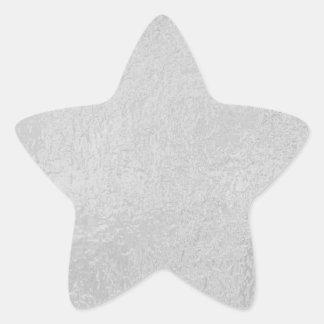 Adesivo Estrela Fonte LUMINOSA - roda branca preta da faísca de n
