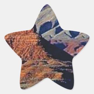 Adesivo Estrela formas naturais do deserto