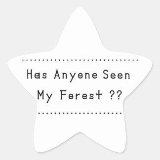 Adesivo Estrela Forrest