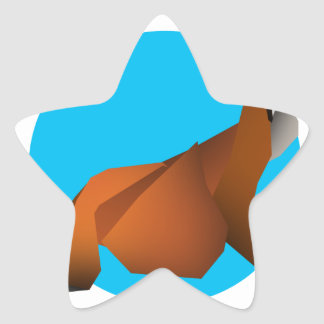 Adesivo Estrela Fox