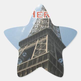 Adesivo Estrela Francês do verão 2016 de Paris France da torre