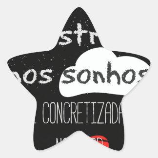 Adesivo Estrela Frase Chico Xavier