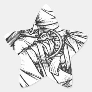 Adesivo Estrela Frey assentou no trono de Odin