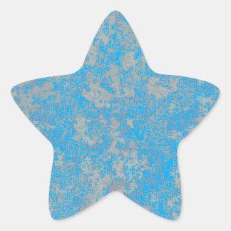 Adesivo Estrela Fundo verde do Aqua