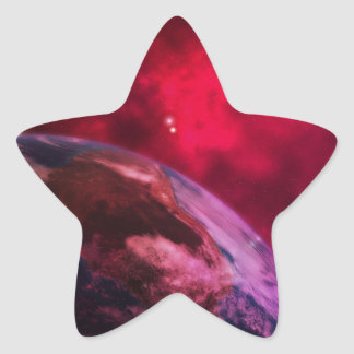 Adesivo Estrela Galáxia roxa 2 - purple galaxy