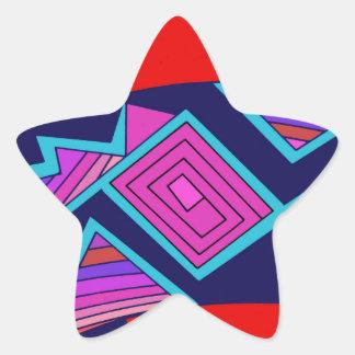 Adesivo Estrela Gato de Mimbres do sudoeste