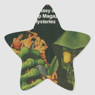 Adesivo Estrela Ghoul verde gigante