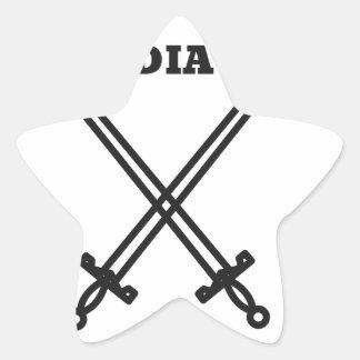 Adesivo Estrela Gladiador