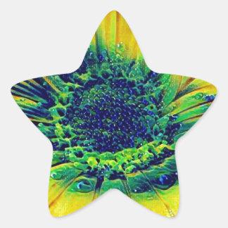 Adesivo Estrela Gotas criativas