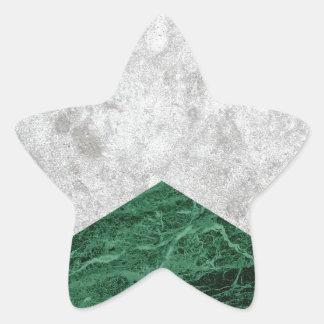 Adesivo Estrela Granito concreto #412 do verde da seta