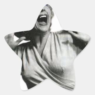Adesivo Estrela Gritador do filme de terror