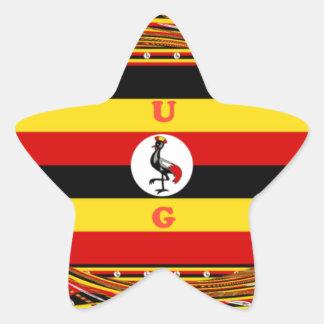 Adesivo Estrela Hakuna surpreendente bonito Matata Uganda bonito