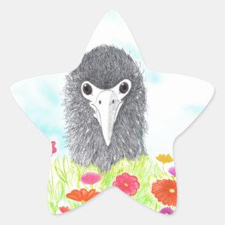 Adesivo Estrela Haulani o pintinho do albatroz