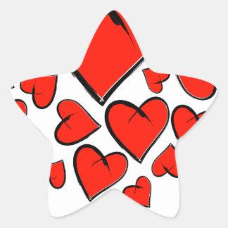 Adesivo Estrela Heartinella - corações do vôo