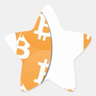 Adesivo Estrela Hodl Bitcoin