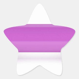 Adesivo Estrela Ideia dianteira do dumbbell cor-de-rosa