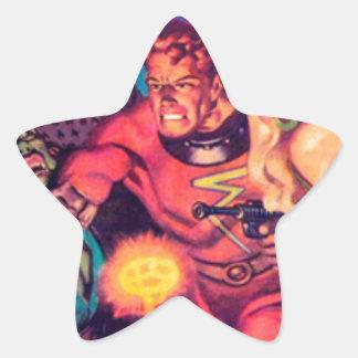 Adesivo Estrela Imbeceis do espaço