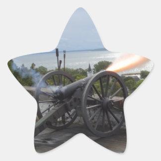 Adesivo Estrela Incêndio de Canon