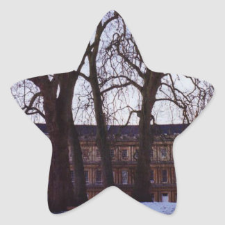 Adesivo Estrela Inverno no banho