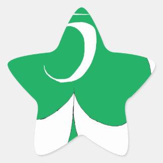 Adesivo Estrela Irlandês afortunado 5 dos clubes, fernandes tony