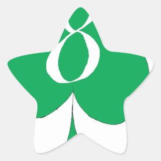 Adesivo Estrela Irlandês afortunado 8 dos clubes, fernandes tony