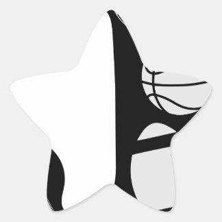 Adesivo Estrela j inicial