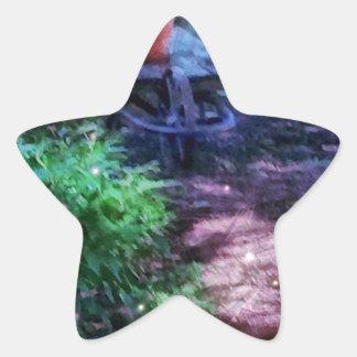 Adesivo Estrela Jardim secreto