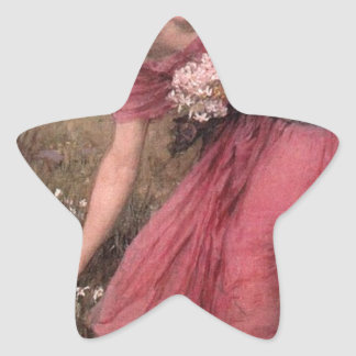 Adesivo Estrela John William Waterhouse - narciso - belas artes