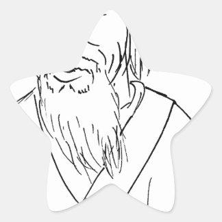 Adesivo Estrela Lao Tzu