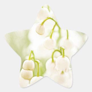 Adesivo Estrela Lírio das flores do vale