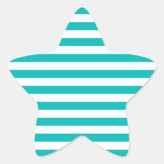 Adesivo Estrela Listras horizontais do Aqua