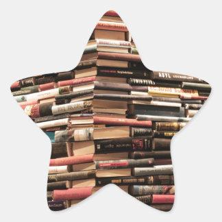 Adesivo Estrela Livros