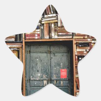 Adesivo Estrela Livros e livros