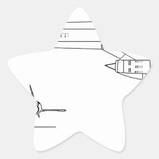Adesivo Estrela Lockheed_YF-12A_3view