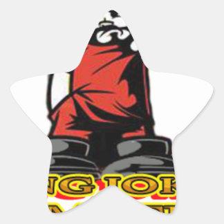 Adesivo Estrela Logotipo de KJP