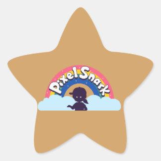 Adesivo Estrela Logotipo de PixelSnark