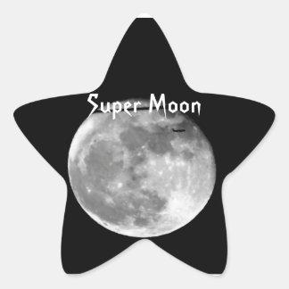 Adesivo Estrela Lua super com a passagem do avião/customizável!