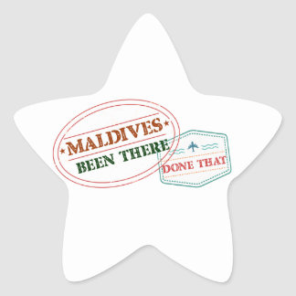 Adesivo Estrela Maldives feito lá isso