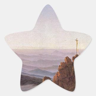 Adesivo Estrela Manhã em Riesengebirge - Caspar David Friedrich